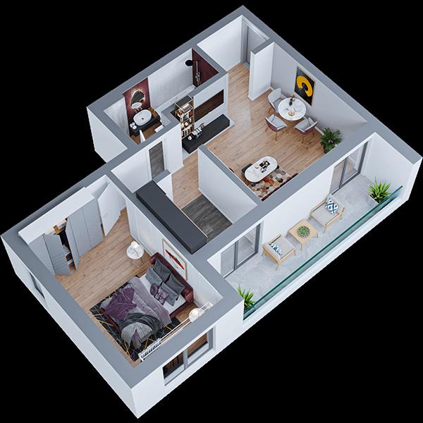 apartamente noi iasi 2 camere
